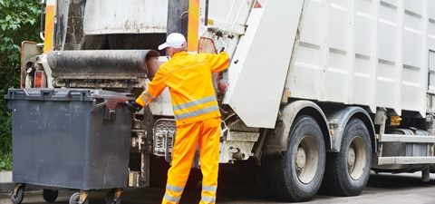 Disinfecting of Dustbins, Garbage Trucks, Containers